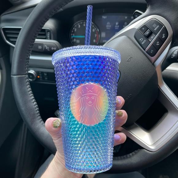 Starbucks Summer Blue Ombre Grande Studded Tumbler